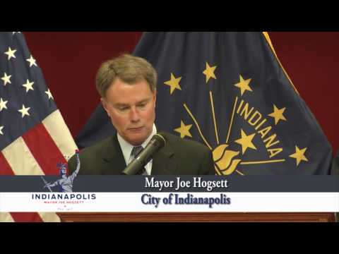 Mayor Joe Hogsett's State of The City 2016 Indianapolis, In