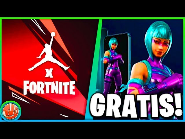 *UPDATE* v9.10 Fortnite X Jordan!! *GRATIS* Skin Unlocken!! Friday Fortnite TERUG!!