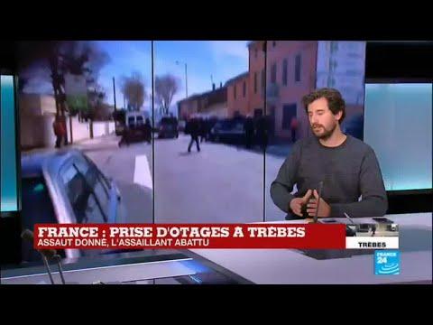 Prise d'otages à Trèbes : Quel est le profil de Redouane Lakdim, l'assaillant abattu ?