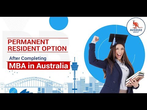 Permanent Residence Options After Completing MBA in Australia