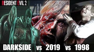 The Reason William Birkin Became G-Monster - RE2 Remake VS Original RE2 VS Darkside Chronicles