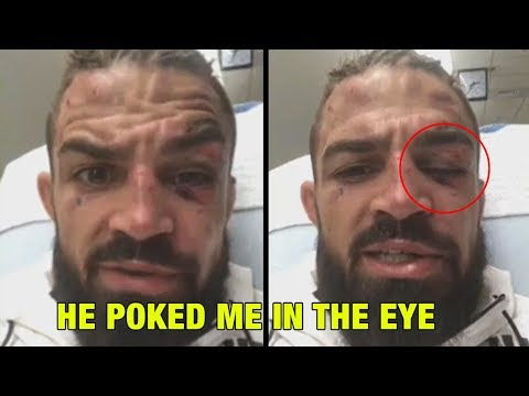 """Mike Perry talks loss to Ponzinibbio: """"He poked me in the eye"""""""