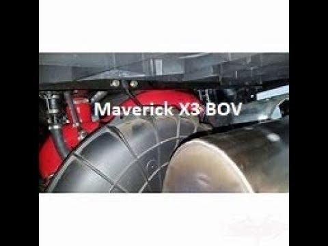 Maverick X3 Blow of Valve install. Evolution power sports.