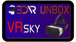 Розпакування окулярів віртуальної реальності VR Sky CX-V3 | 3D-VR - все про віртуальної реальності