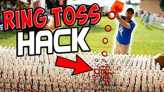 Carnival Game Hack On Ring Toss. Does It Work?? (Win 100% Of The Time??) ArcadeJackpotPro