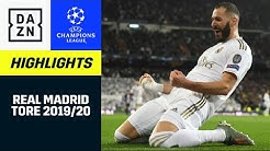 Real Madrid: Alle UCL-Tore 19/20 | UEFA Champions League | DAZN Highlights