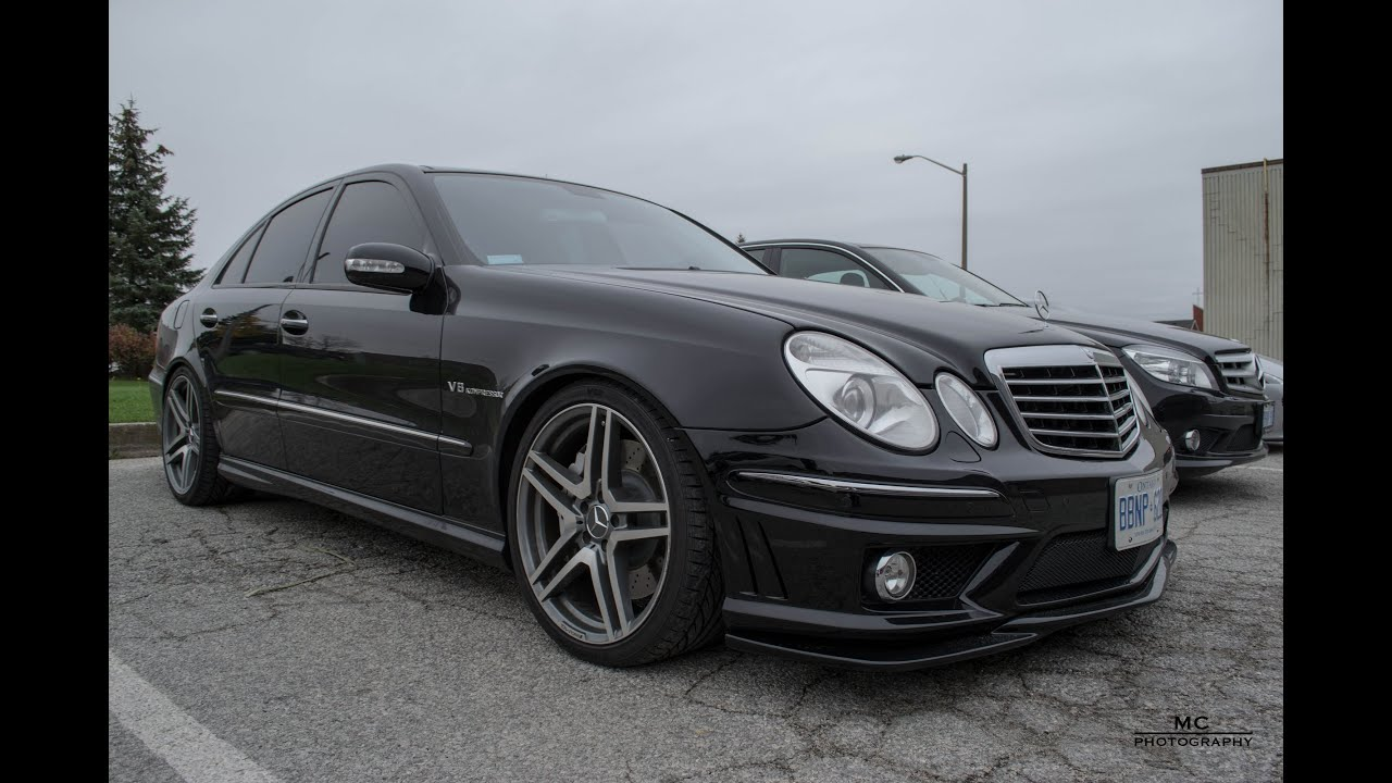 Image gallery mercedes e55 for Mercedes benz e 55 amg