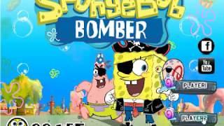 видео Игра Губка Боб бомберы | Играть онлайн бесплатно без регистрации