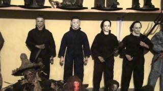 halloween michael myers 12 inch 1/6 collection sideshow