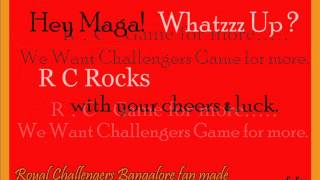 ROYAL CHALLENGERS THEME SONG WITH LYRICS