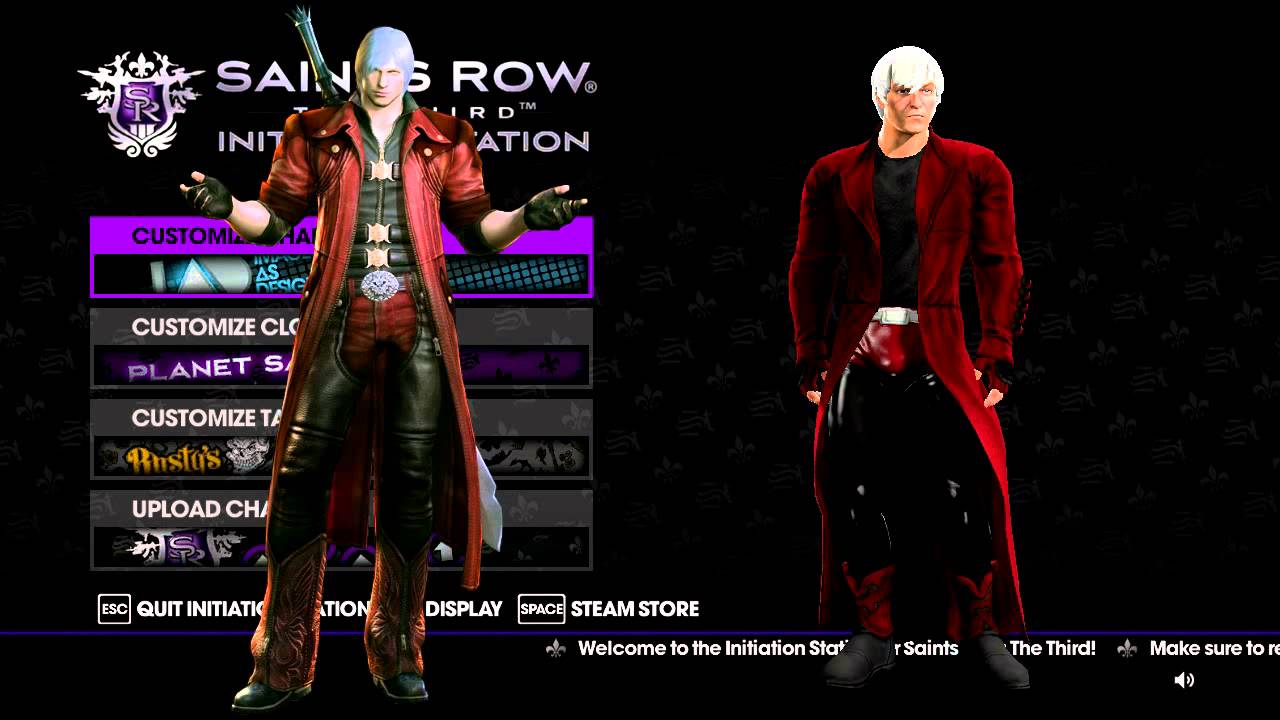 Saints Row  How To Make Clothes Mod