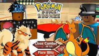 Roblox Pokemon Brick Bronze PvP Battles vs. Imancoco12 #1