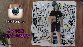 5 years anniversary filming with GoPro today! May 14,2010 to 2015