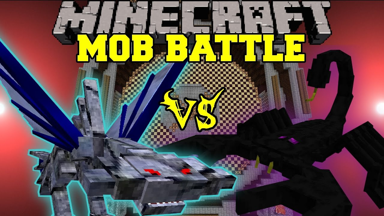 Emperor Scorpion Vs Cephadrome Minecraft Mob Battles