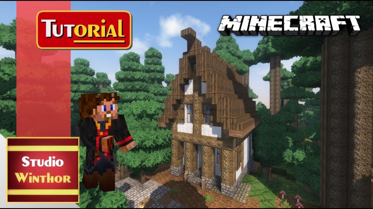 Minecraft Tutorial Basics Ein Mittelalterliches Hexenhaus - Minecraft hexenhauser