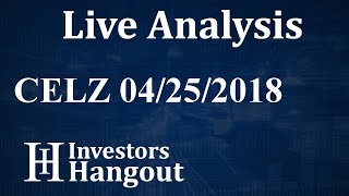 CELZ Stock Creative Medical Technology Holdings Inc. Live Analysis 04-25-2018