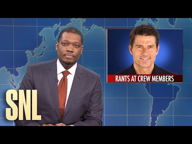 Weekend Update: Cleveland Indians Name Change and Tom Cruise Covid Rant - SNL
