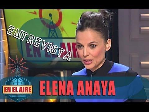 En el aire - Buenafuente entrevista a Elena Anaya