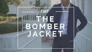 How to Style The Bomber Jacket   2 Looks