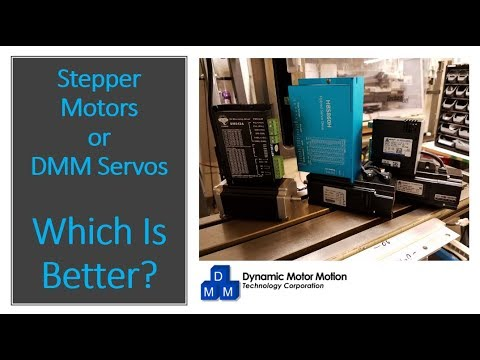 Open Loop and Hybrid Steppers VS DMM DYN2 Servo:  Which Is Better?