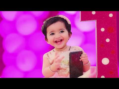 First Birthday | baby girl | Samaira | Shoot By Taj Studio Rajpura| India