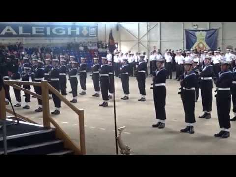 HMS RALEIGH Nelson 32 Passing Out Parade 27th April 2018