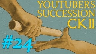 Crusader Kings 2 The Old Gods YouTuber Succession Game (24) - Quill18