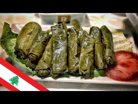 Delicious LEBANESE FOOD! 🇱🇧 الطعام اللبناني