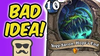 WIN THE GAME OR YOGG-SARON!? | MIRACLE ROGUE | HEARTHSTONE | DISGUISED TOAST