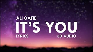 Ali Gatie - It's You ( Lyrics) | 8D Audio 🎧 || Dawn of Music ||