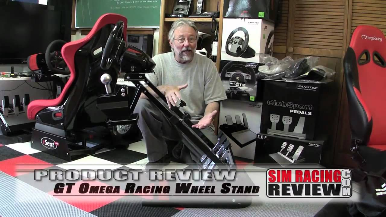 sim racing review product review gt omega racing wheel. Black Bedroom Furniture Sets. Home Design Ideas