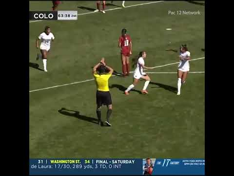 Unbelievable BICYCLE KICK in college soccer! | #Shorts | ESPN FC thumbnail