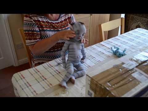 Box Opening Silicone Avatar Baby