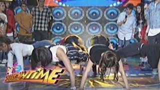 It's Showtime Cash-Ya: Team Nadine's push-up in Cash-Ya