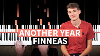 Download Another Year - FINNEAS - PIANO TUTORIAL (accompaniment with chords)