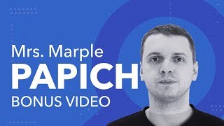 Mrs. Marple | Папич! Bonus video