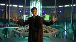 DOCTOR WHO - Inside NEW TARDIS! Christmas 2012 BBC AMERICA