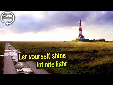 Let yourself shine | Infinite light