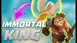 The king walk|CLASH OF CLANS|3 STAR ATTACK ON TH5|😂😂 (MUST WATCH)