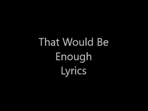 ⭐️Hamilton⭐️ That Would Be Enough Lyrics