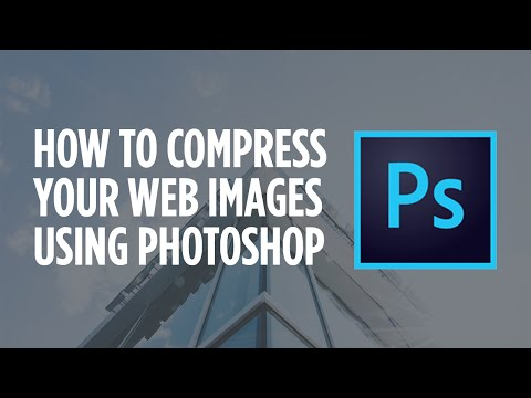 How to Compress Images for Websites using Photoshop