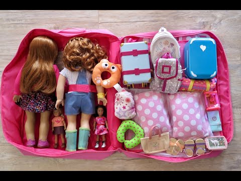 How To Travel With Your American Girl Doll ~ 1 Night Hotel Vacation Stay