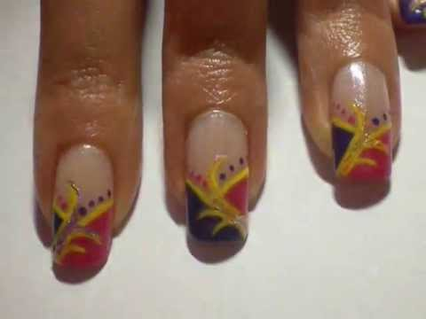 ...Carnival party... Nail art inspirata al Carnevale