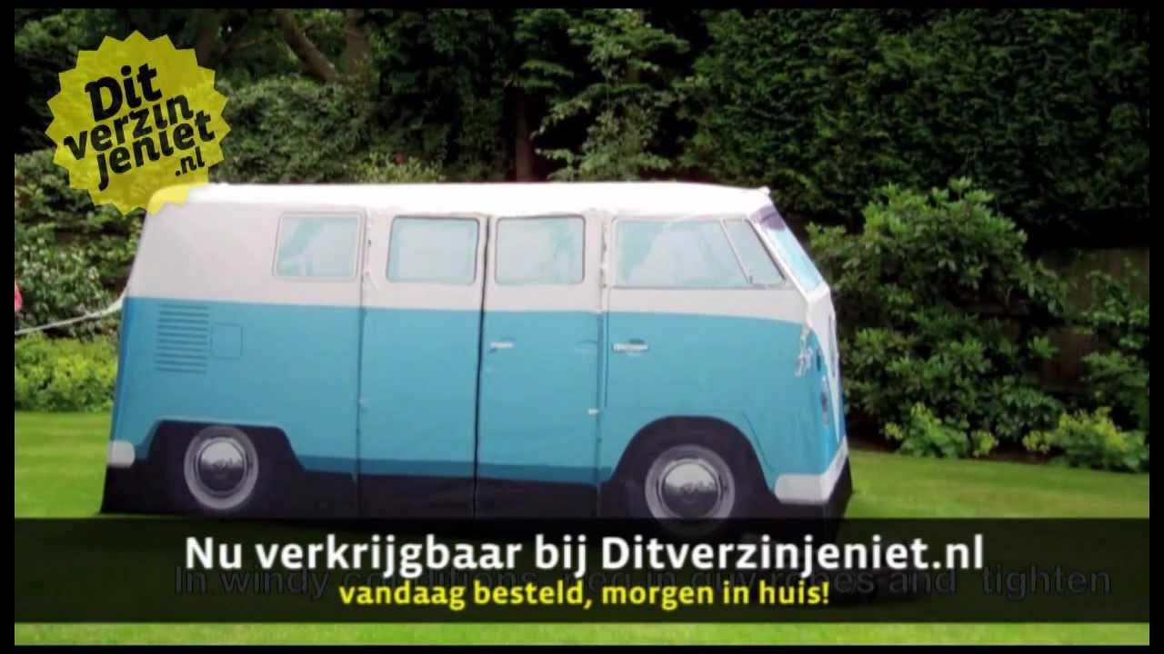 & Ditverzinjeniet.nl - VW Busje Tent - YouTube