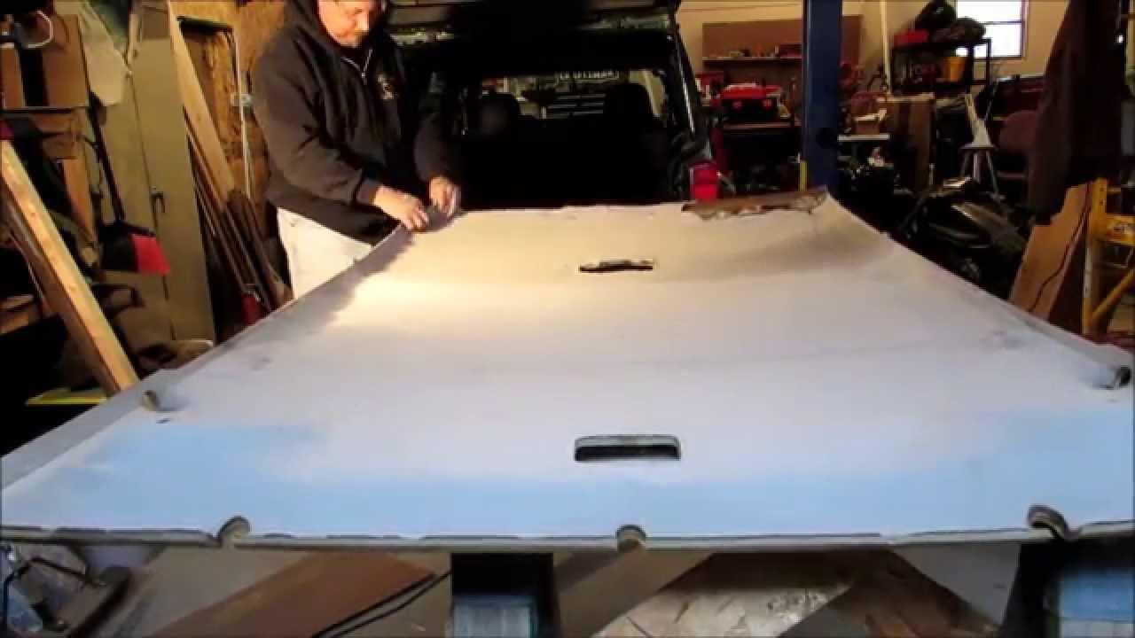 Headliner Replacement Jeep Cherokee Part 1 Complete Process