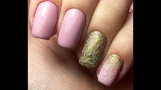 Модный дизайн ногтей. Трендовый маникюр. Стемпинг