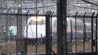 2021/01/17 【出区】E2系新幹線J71編成東京新幹線車両センター | JR East: E2 Series Shinkansen J71 Set at Tokyo Depot
