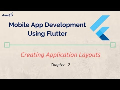 Flutter : Chapter - 2  - Creating Application Layouts
