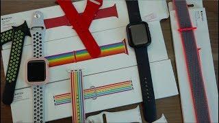 เทียบน้ำหนักสาย Apple Watch (Sport Band, Nike Sport Band, Sport Loops)