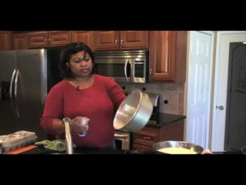 """Debora's Sweet Kitchen"" - 7-up Pound-cake Part 1"